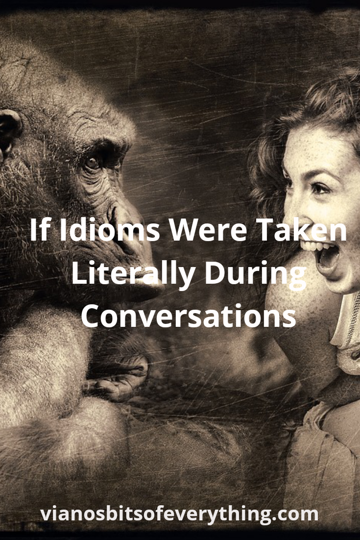 If Idioms Were Taken Literally During Conversations