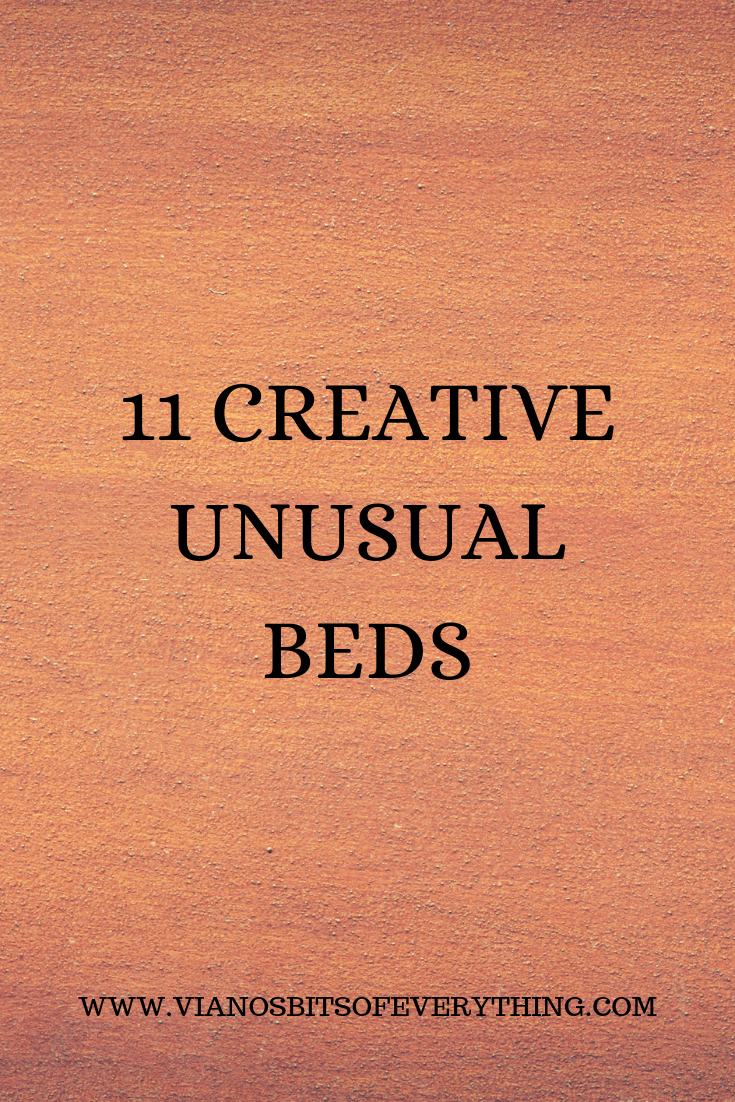 11 Creative Unusual Beds