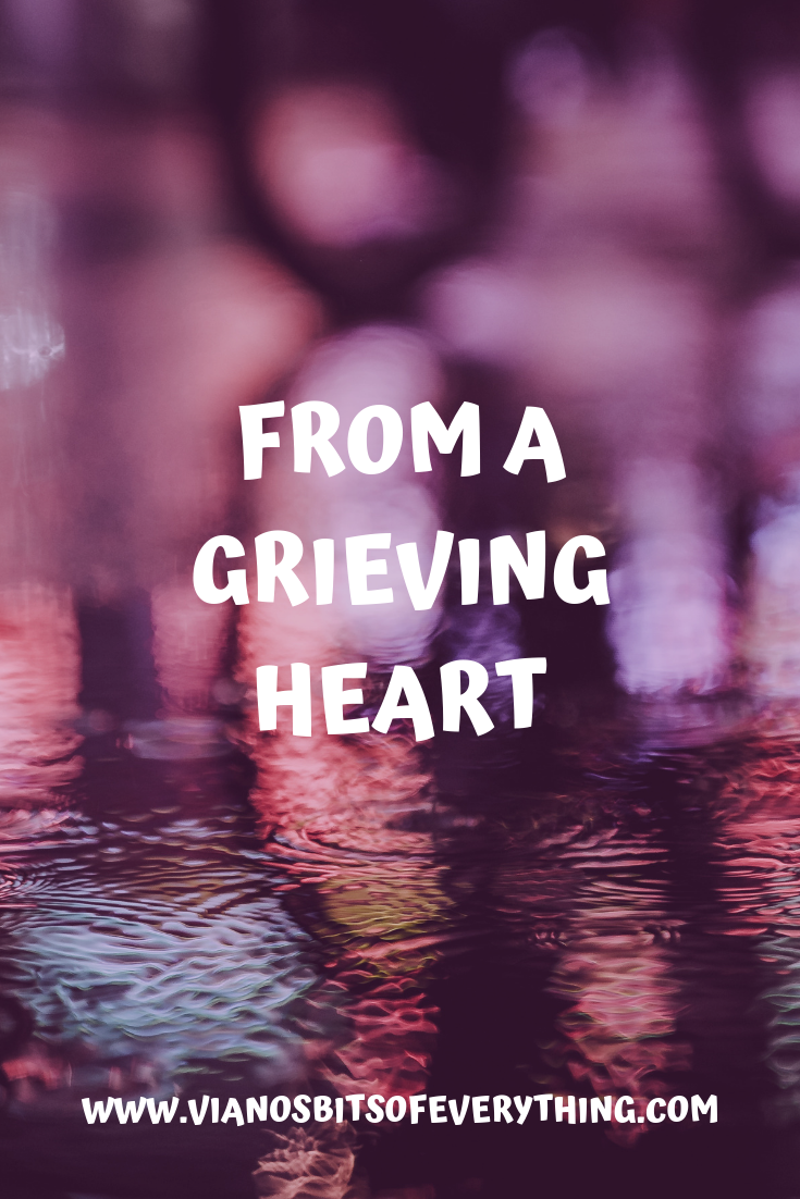 From a Grieving Heart