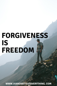 Forgiveness is Freedom
