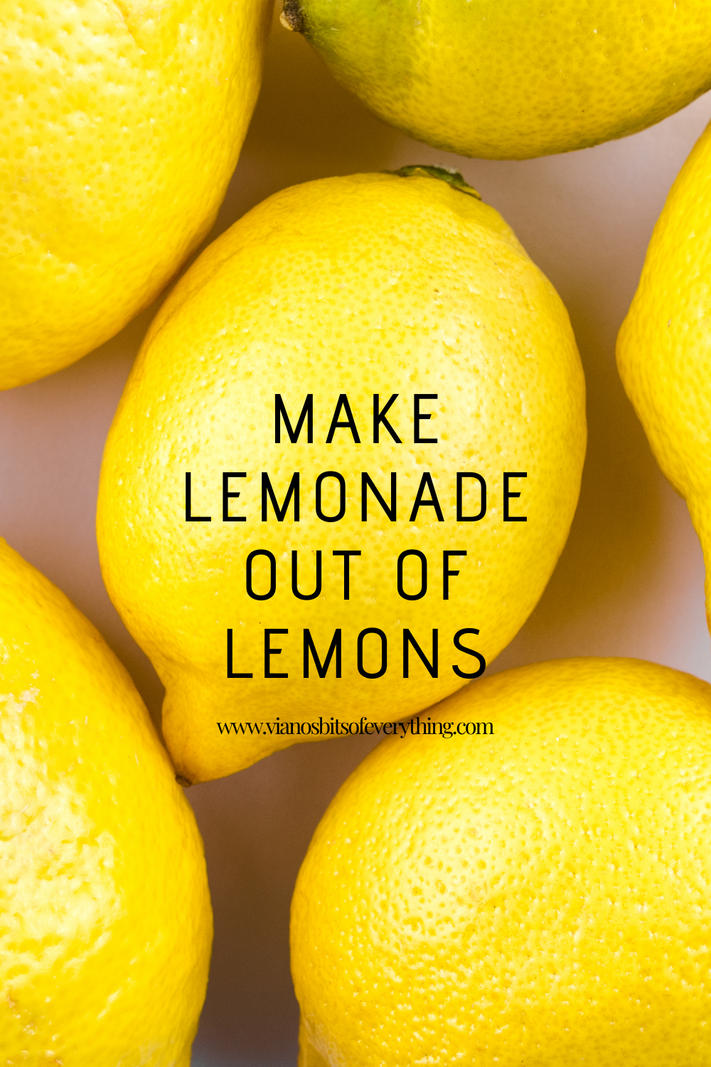 Make Lemonade Out Of Lemons