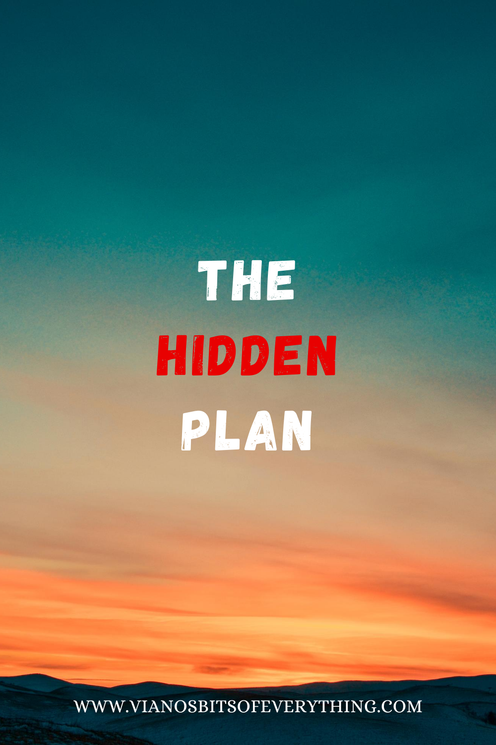 The Hidden Plan
