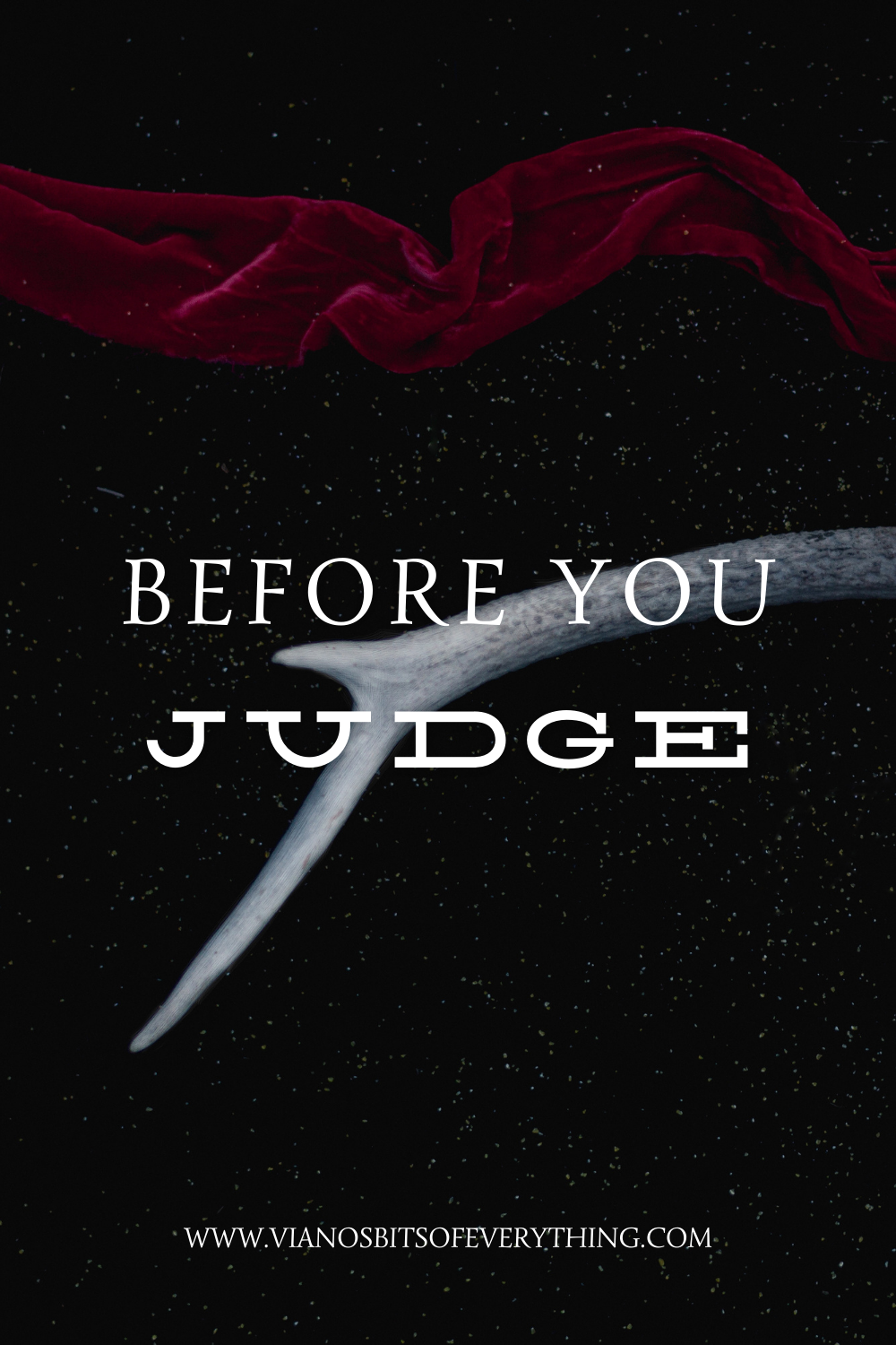 Before You Judge || Viano Dee