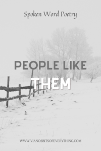 People Like Them: Spoken Word